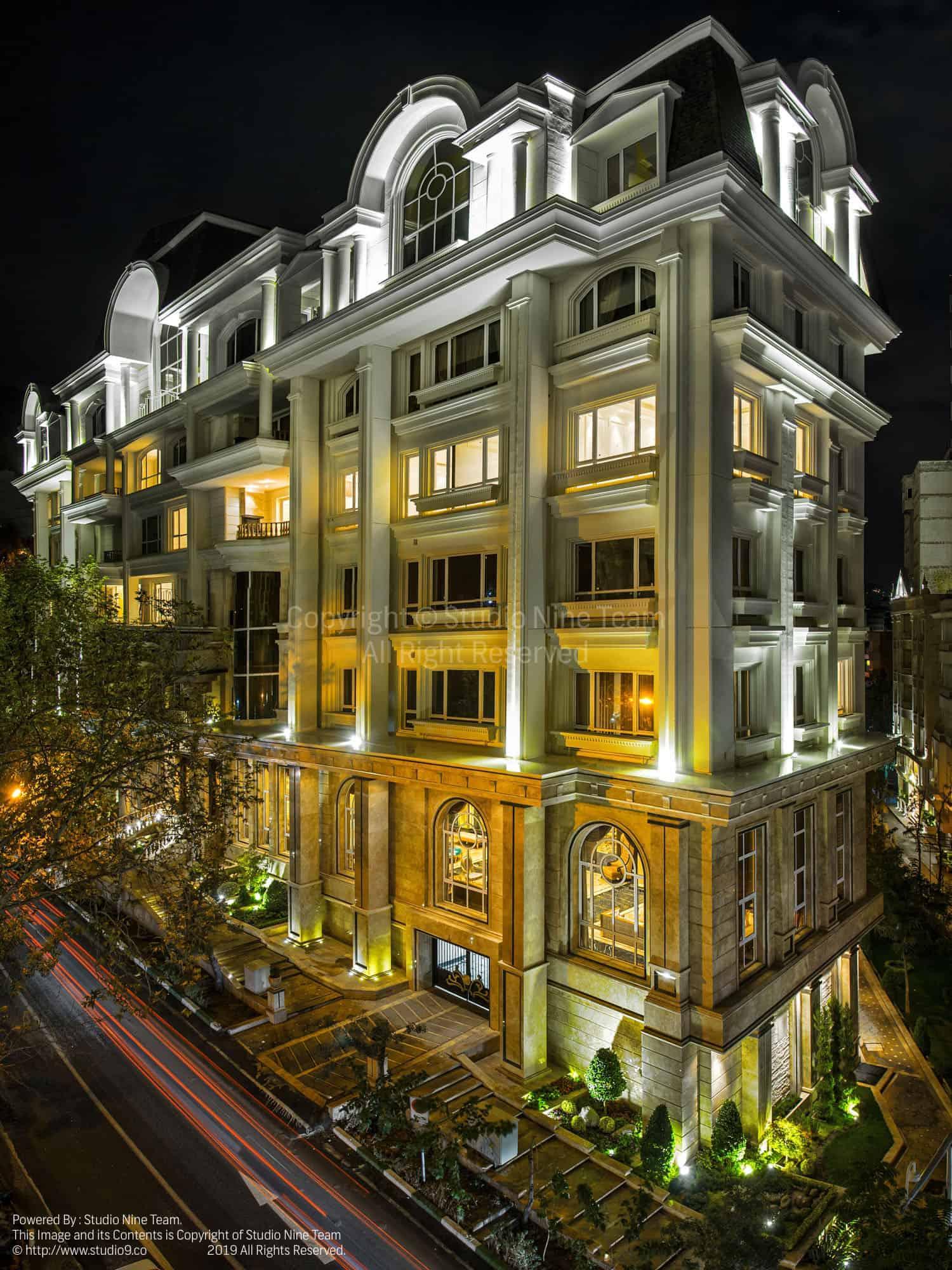 عکاسی معماری ساختمان