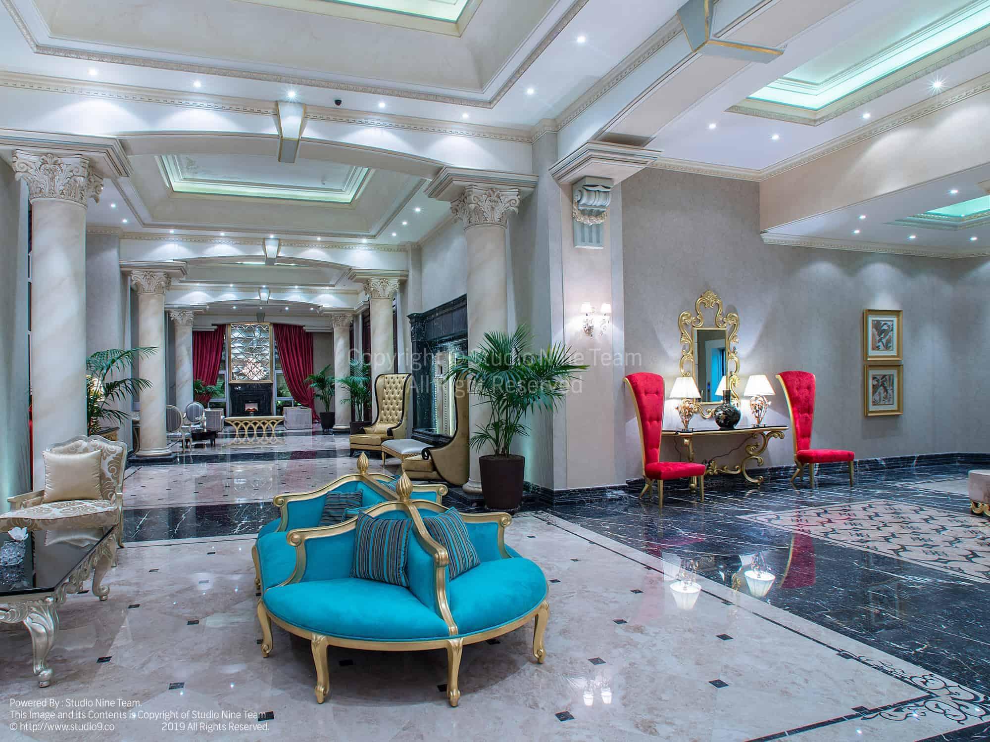 عکاسی معماری هتل
