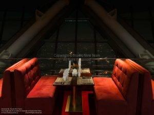 رستوران برج میلاد