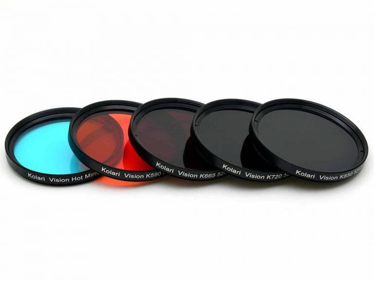 فیلترها در عکاسی صنعتی