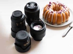 لنزهای عکاسی غذایی