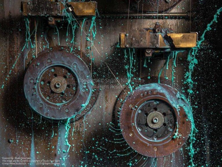 عکاسی صنعتی سرعت بالا | عکاسی صنعتی از دستگاه ها با تکنیک سرعت بالا