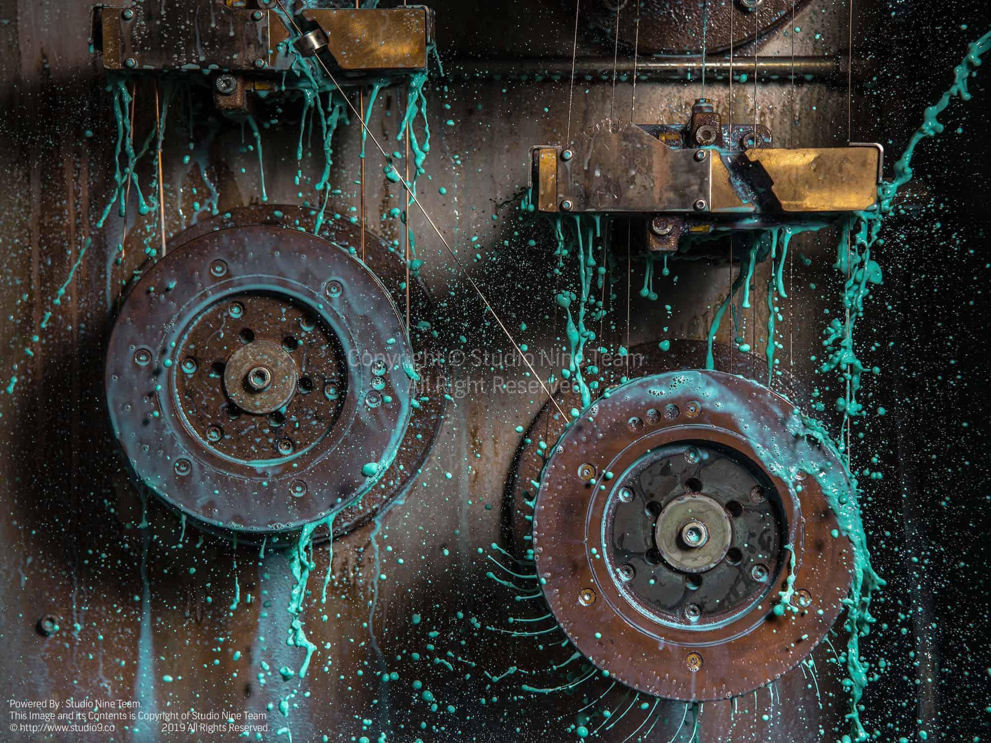 عکاسی سرعت بالا صنعتی