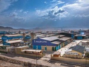 شرکت گسترش صنایع روی ایرانیان | عکس هوایی | عکاسی هوایی با هلی شات | عکس صنعتی