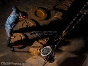 عکاسی صنعتی شرکت مهندسی مقتدر | عکاسی پرسوناژ | عکاسی خط تولید