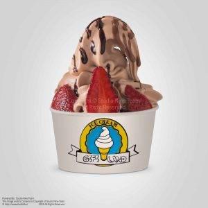 بستنی قیفی لند