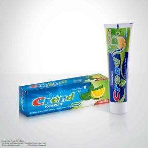 عکاسی صنعتی محصولات پاکرخ | عکاسی تبلیغاتی محصول | عکاسی صنعتی عکاسی محصول | خمیر دندان crend