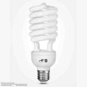 لامپ شمسه | عکاسی صنعتی محصولات شمسه | لامپ فلورسنت فشرده شمسه