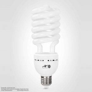عکاسی تبلیغاتی لامپ شمسه | لامپ کم مصرف شمسه