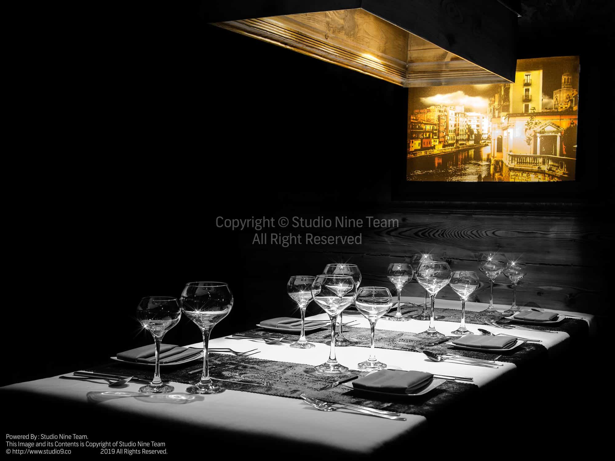 عکاسی دکوراسیون رستوران