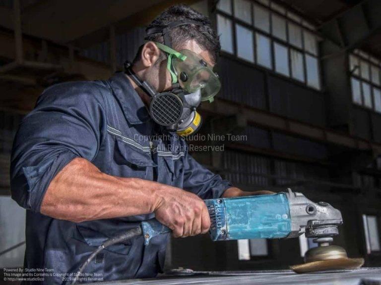 ایمنی در عکاسی صنعتی
